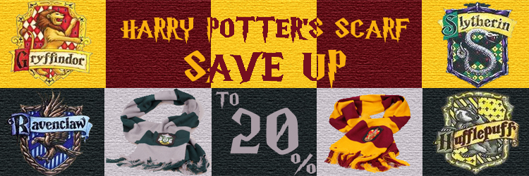Harry Porters Scarf up to 25% off